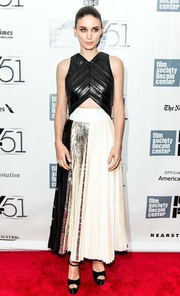 make your legs look longer Rooney Mara