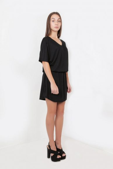 Petite Shoujou Dress in Black by Narrow Arrow :: BombPetite.com