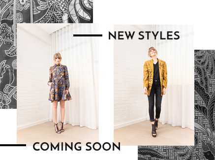 New styles coming soon… and a look behind the scenes
