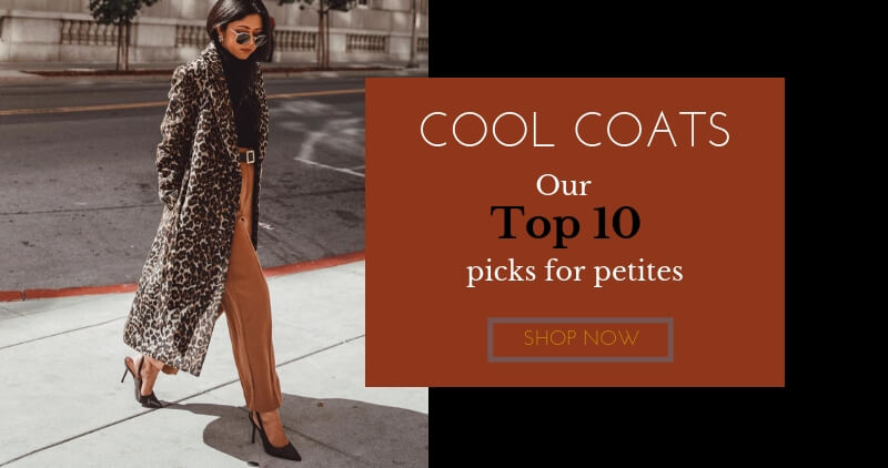 Cool coats our top 10 picks for petites