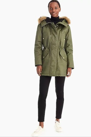 petite winter coat parka
