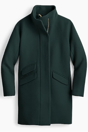 j crew petite cocoon coat