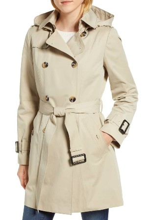 petite trench coat london fog